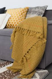 zuiver mimosa geel plaid