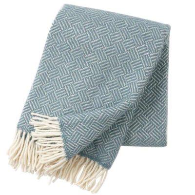 klippan deken samba blauw
