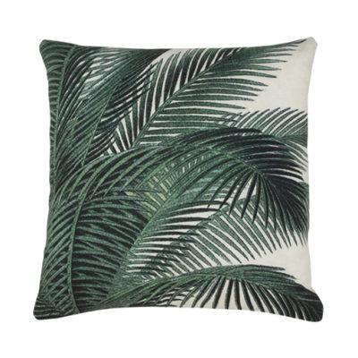 HKLIVING Kussen - Palm Leaves