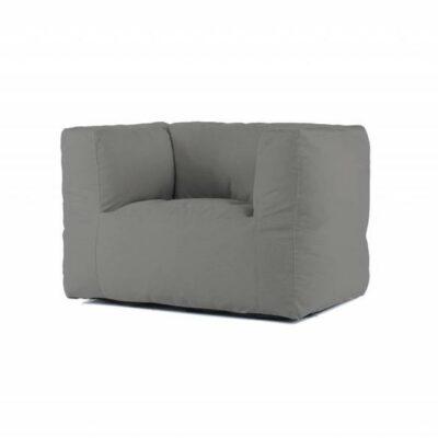 BRYCK Lounge Chair - Ecollection Medium Grey