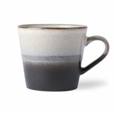 HKliving 70's Ceramics Cappuccino mok - Rock