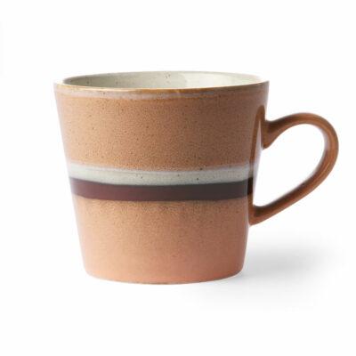 hkliving 70's ceramics cappuccino mok stream