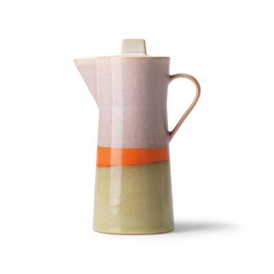 HKLIVING 70's Ceramics Coffee Pot - Saturn