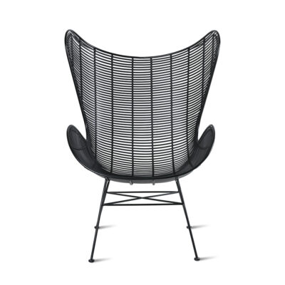 hkliving outdoor stoel egg chair zwart