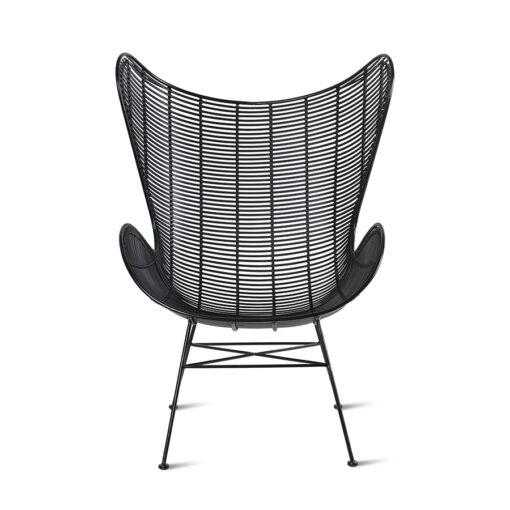 hkliving outdoor stoel egg chair zwart