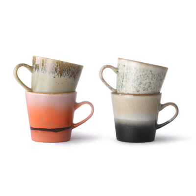 HKliving 70's Ceramics Americano set