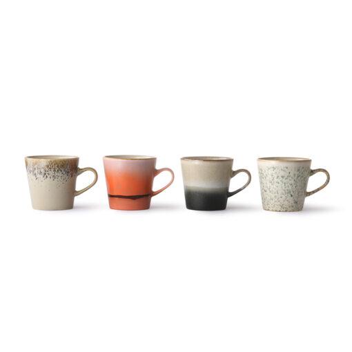 HKliving 70's Ceramics Americano soorten