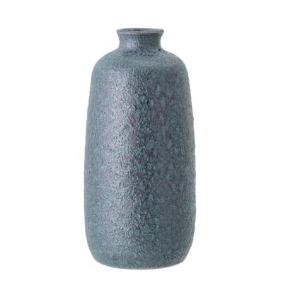 Bloomingville vaas blauw terracotta