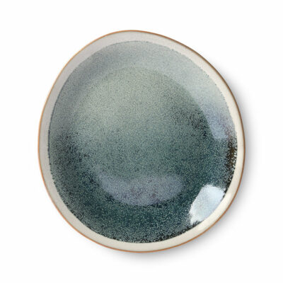 HKliving 70's ceramics side plate Mist