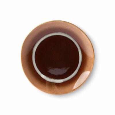 HKliving 70's ceramics dessert plate Stream