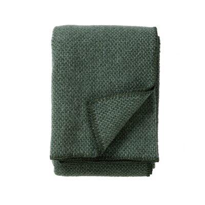 Klippan deken Domino green