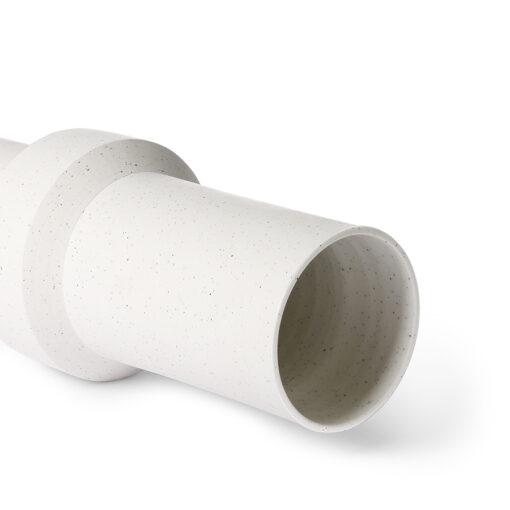 HKliving Speckled clay vase straight M