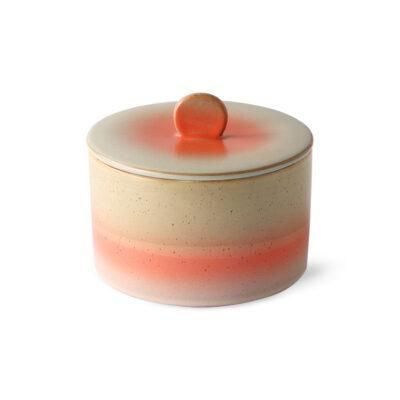 HKliving 70's ceramics cookie jar - venus