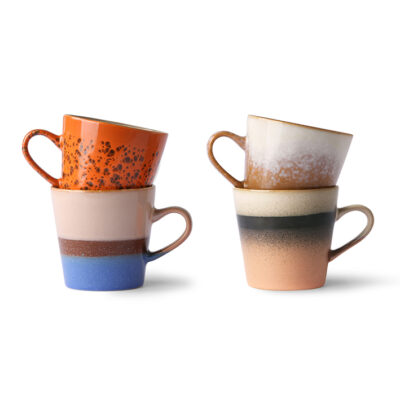 hkliving set americano 70's ceramics