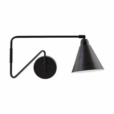 house doctor wandlamp game zwart