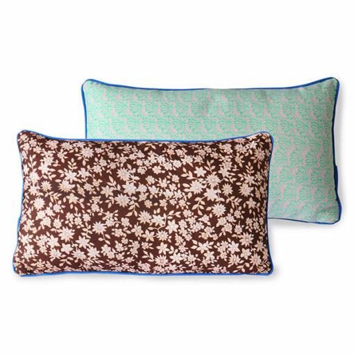 doris for hkliving printed cushion brown