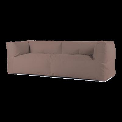 BRYCK Loungebank - Smooth Collection Light Brown 3 ZITS
