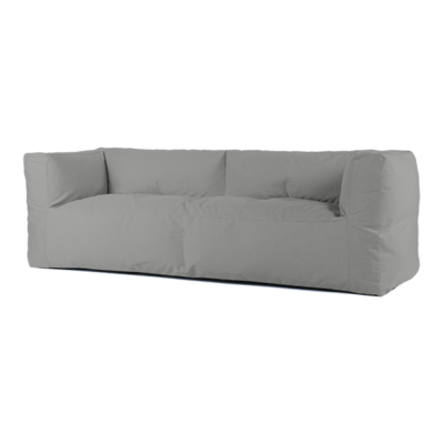 BRYCK Loungebank - Smooth Collection Silver