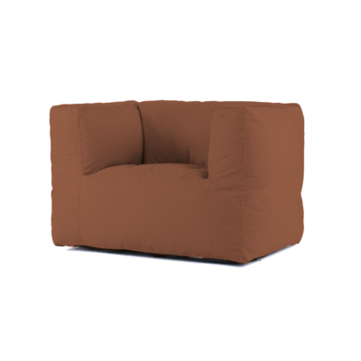 BRYCK Lounge Chair - Ecollection Orange