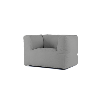 BRYCK Lounge Chair - Smooth Collection Silver