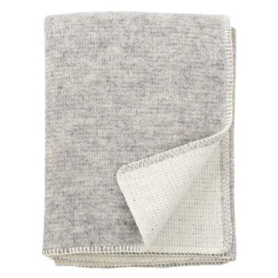 KLIPPAN Plaid Wol - Harmony Grey
