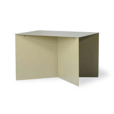 HKLIVING Metal Side Table Rectangular - Olive