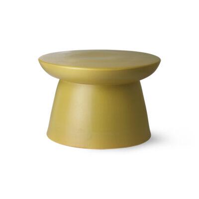 HKLIVING Side Table Earthenware - Green