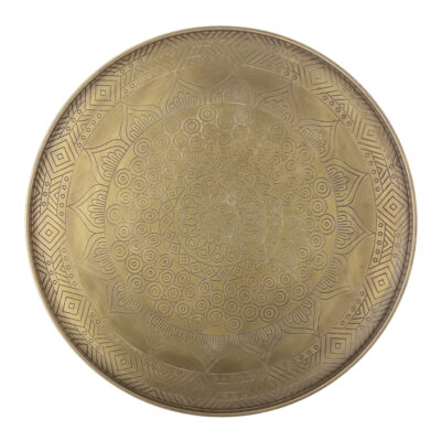 BLOOMINGVILLE Tray Conan - Gold